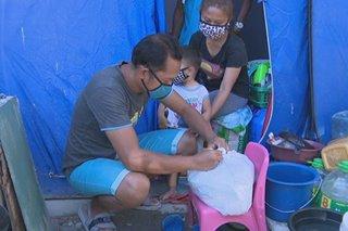 'Pantawid ng Pag-ibig': Mga nasunugan sa Parañaque inabutan ng tulong