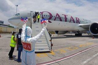 228 Filipino seafarers from Brazil return home