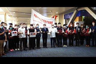 Chinese medical team leaves PH after 2-week visit