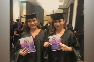'Twin goals': Kambal sa General Santos, parehong nakapasa sa 2019 Bar exams