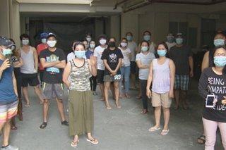Mga OFW na naka-quarantine sa QC isolation facility inireklamo ang mabagal na pag-swab test