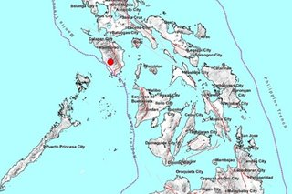 Magnitude 5.1 na lindol naitala sa Occidental Mindoro