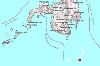 Magnitude 4.6 tremor jolts Davao Occidental