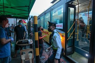 Look: EDSA Bus Augmentation Terminal in Guadalupe, Makati