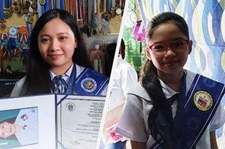 Pasig City's top elementary, senior high school graduates receive diploma, medals from Mayor Vico