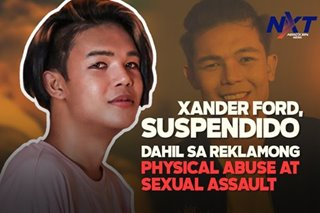 Xander Ford, suspendido dahil sa reklamong physical abuse at sexual assault