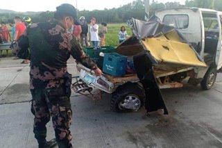 8 sugatan sa aksidente sa Agusan del Norte