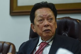 Estelito Mendoza to SC: Dismiss petitions vs Anti-Terrorism Act due to lack of jurisdiction