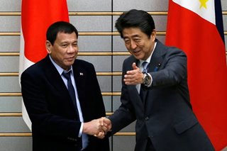 Duterte hopes for Japan PM Abe's speedy recovery