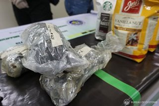 P1.1 million worth of marijuana seized at Port of Clark