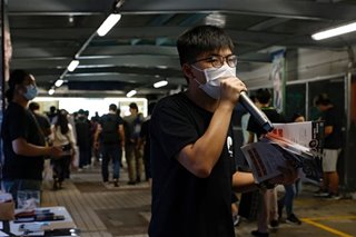 HK activist Joshua Wong arrested for 2019 'unlawful assembly'