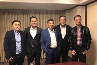 Duterte unlikely to meet Speakership rivals Cayetano, Velasco again