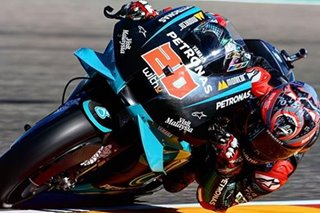 Motorsports: Quartararo fit for Aragon MotoGP qualifying despite high speed crash in practice