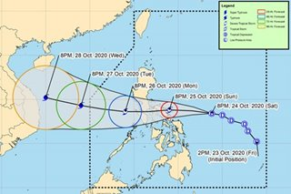Quinta maintains strength en route to Bicol