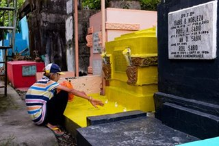 Bringing color to Manila North Cemetery