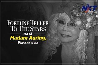 Fortune teller to the stars na si Madam Auring, pumanaw na
