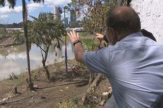 Reclamation sa isang bahagi ng Marikina River itinuturong dahilan ng Ulysses floods