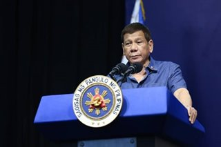 'Walang imbento': Duterte says he will resign if accused of corruption
