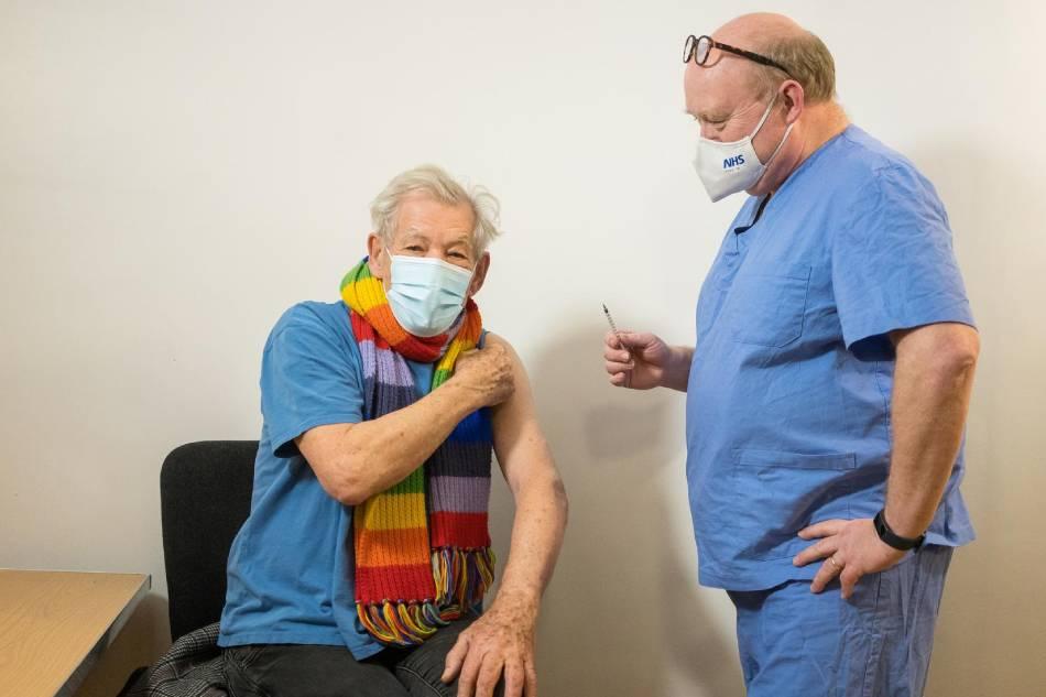 Gandalf actor Ian McKellen euphoric after receiving COVID ...