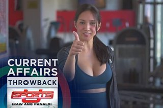Throwback: New Year, new fitness challenges for Roxanne Barcelo | Sports U