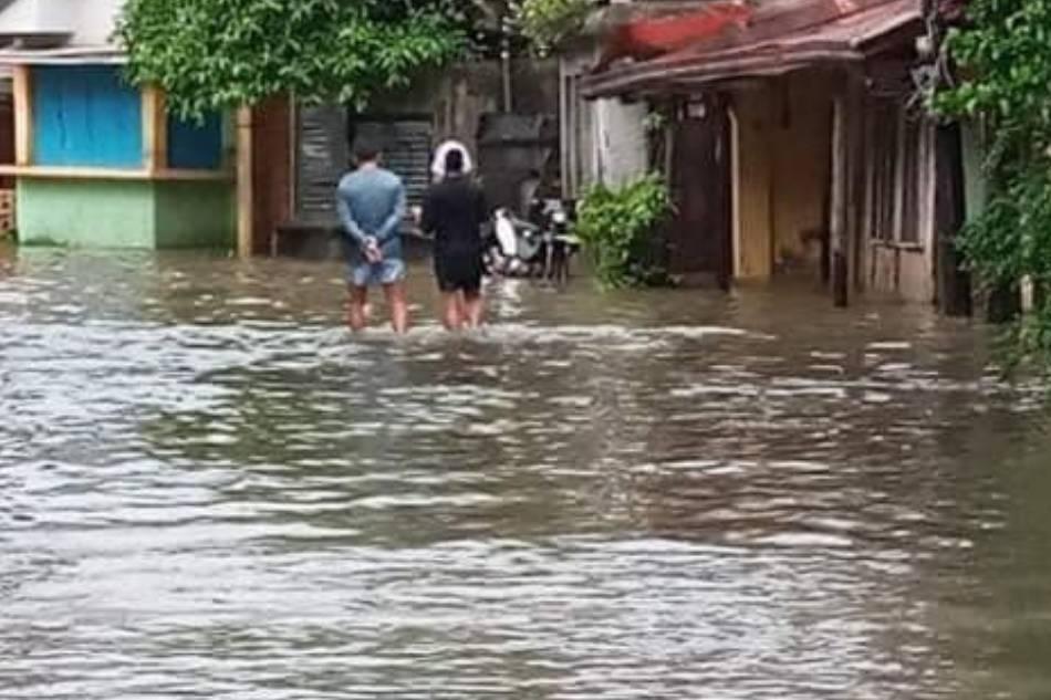 Mga pagguho ng lupa naitala sa Surigao City 2