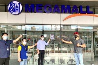 Mandaluyong mall receives LGU Safety Seal