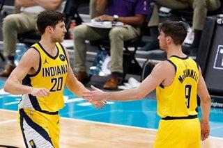 NBA: Doug McDermott scores 28 as Pacers top Hornets