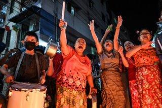 Myanmar broadens social media crackdown as protests grow; UN makes first contact