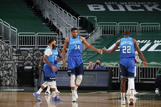 NBA: Giannis Antetokounmpo's 30 points power Bucks past Nuggets
