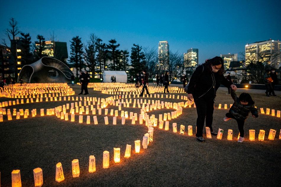 Visiting Washi candle garden