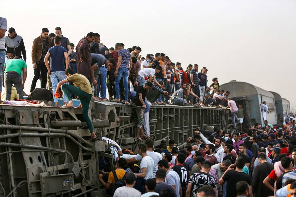 11 dead in Egypt railway accident