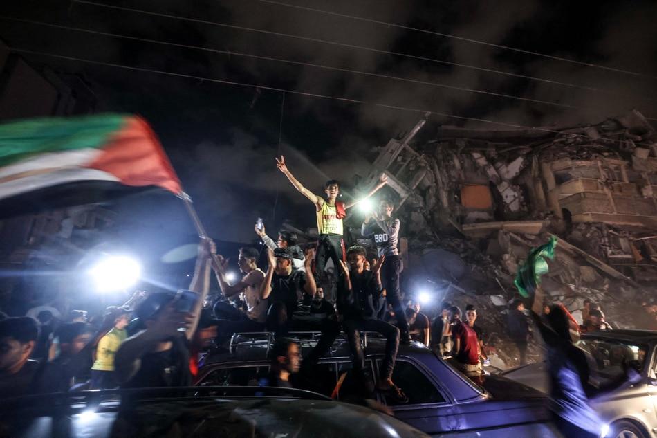 Lebanon's Hezbollah hails 'historic victory' for Palestinians 1
