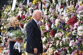 POTUS, First Lady visit Florida apartment collapse memorial