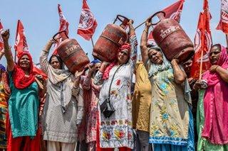 Protest vs rising LPG prices