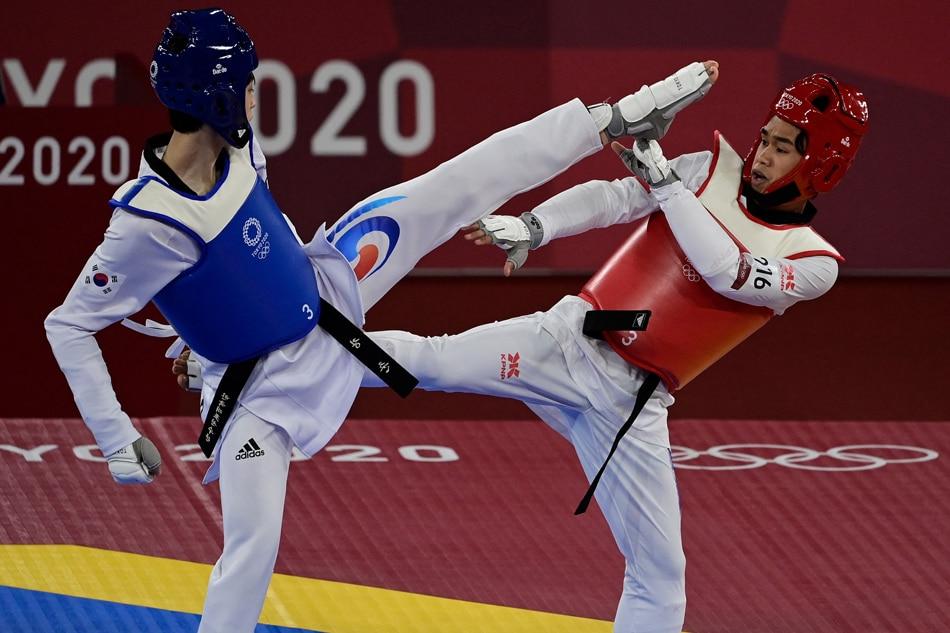 Olympics: Kurt Barbosa falls to superior Korean opponent in taekwondo 1