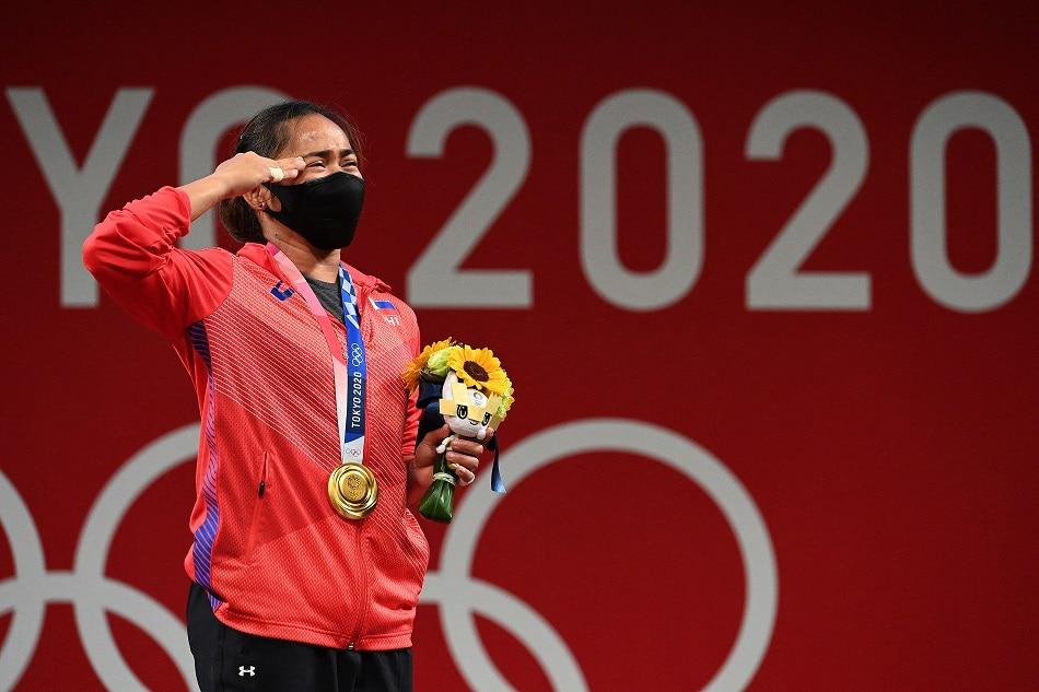 Olympics: Hidilyn breaks through, but PH eyes more gold in Tokyo 1