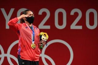 Celebs congratulate Hidilyn Diaz for Olympic win