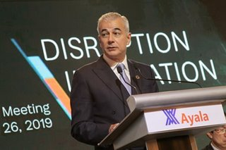 Ayala 'cautiously optimistic' on 2021 growth, wary of second wave infections