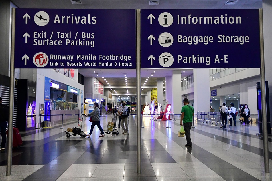 PH sets cap on inbound international arrivals at NAIA amid COVID-19 surge 1