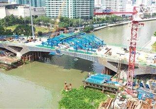 Rockwell Bridge between Makati, Mandaluyong to open in July: DPWH