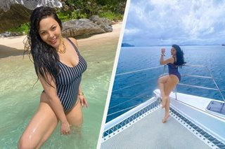 KC Concepcion flaunts curves in photos of El Nido getaway