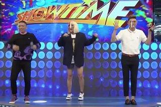 'It's Showtime' hosts, nagpauso ng bagong dance challenge