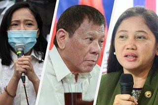 'Siya itong nagta-tantrums': Makabayan bloc blasts Duterte for 'sexist' remark