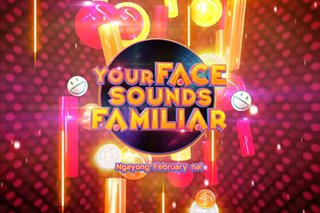 New season of 'Your Face Sounds Familiar' to air in February