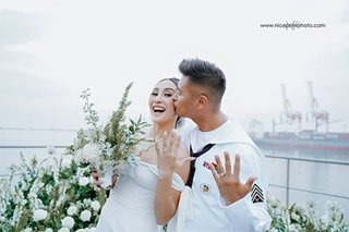 LOOK: Rocco Nacino marries volleyball player Melissa Gohing