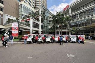 Mall sa Maynila pumayag maging e-trike terminal bilang tulong sa mga tsuper