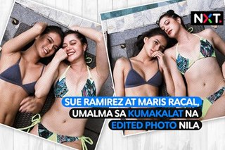 Sue Ramirez at Maris Racal, umalma sa kumalat na edited photo nila