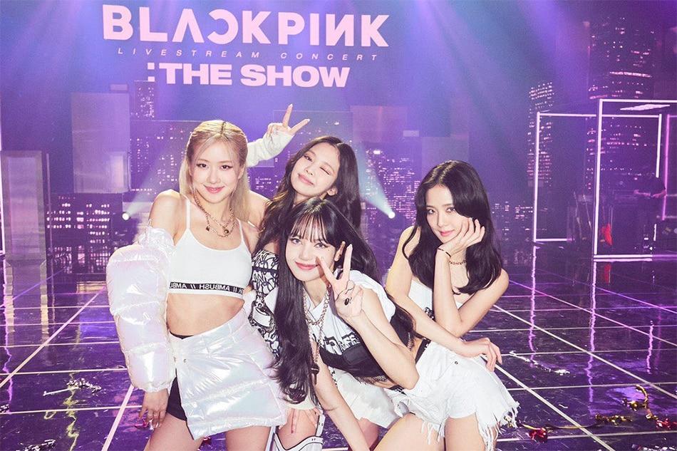 Blackpink held its online concert, 'The Show,' last January 31, 2021. Twitter: @BLACKPINK