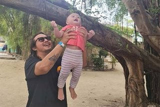 Baron Geisler swears he is now a changed man because of fatherhood