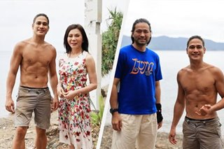 LOOK: Piolo Pascual spends time with Vicky Belo, Hayden Kho in Batangas